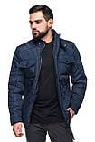 Мужская демисезонная куртка классическая, фото 7