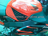 Защитные наклейки-соты под колени Прозрачные, фото 1