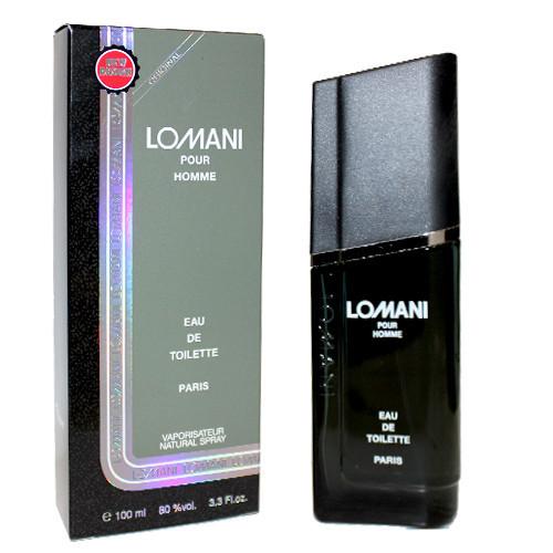 Туалетна вода для чоловіків LOMANI Pour Homme (100мл.)