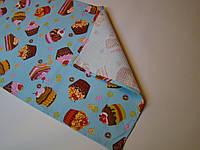 Кухонное вафельное полотенце (35х56 см, 35х76 см) код 0036