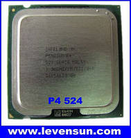 Процессор Intel Pentium 4 524, 3.06 GHZ/1M/800