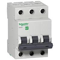 Автоматический выключатель EASY 9 3П 6А С 4,5кА 230В