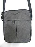 Міцна сумка через плече Nike, сумка на плечі найк, сумка найк чоловіча репліка