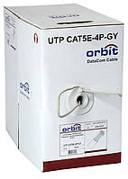 Витая пара ORBIT UTP CAT5E-4P-GY 305 м