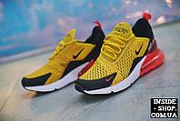 "Кроссовки Nike Air Max 270 Flyknit ""Yellow"""