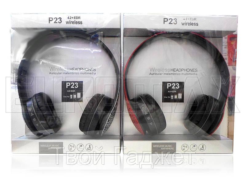Наушники беспроводные Bluetooth/SD/FM BT P23C
