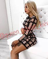 Женское силуэтное платье ViV-885
