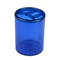Стакан-підставка на 4 відділення, синя  D4009-02