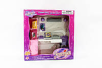 Мебель игрушечная со светом, для офиса, компьютер, аксессуары, 2125