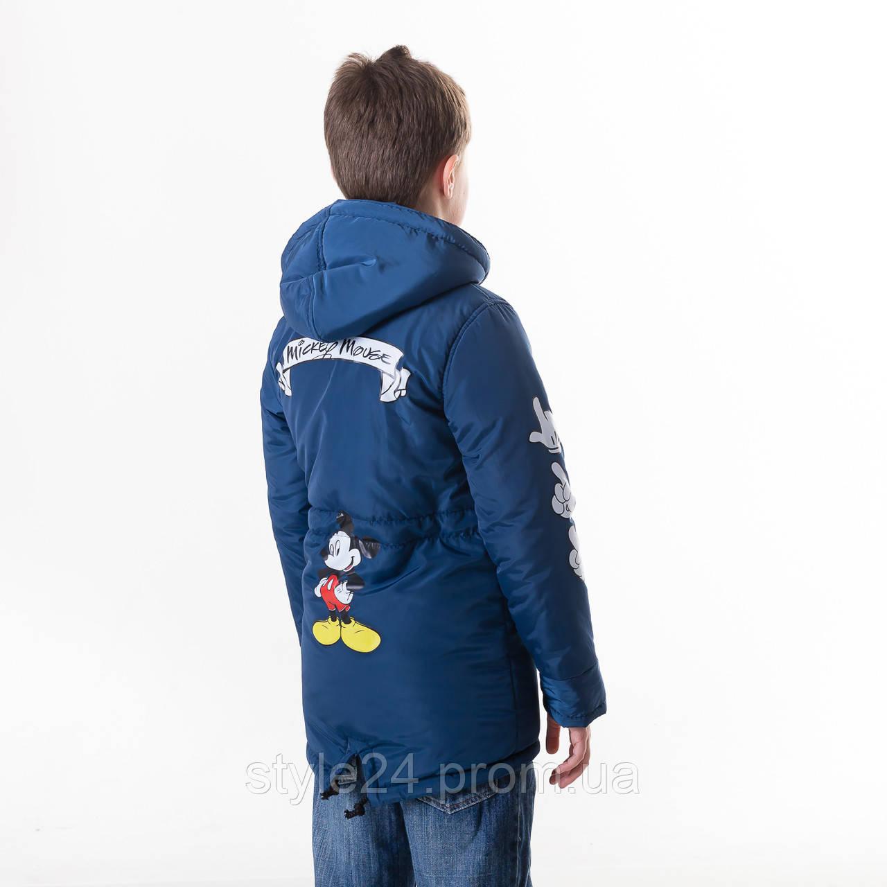 Весняна куртка на хлопчика з Міккі на рукавах спині.Р-ри 110-134 ... 3a8bf15173c39
