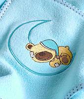 Полотенце Sensillo с вышивкой Teddy Bear 100х100см (арт.19403)