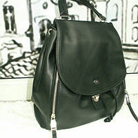 Женский черный рюкзак David Jones