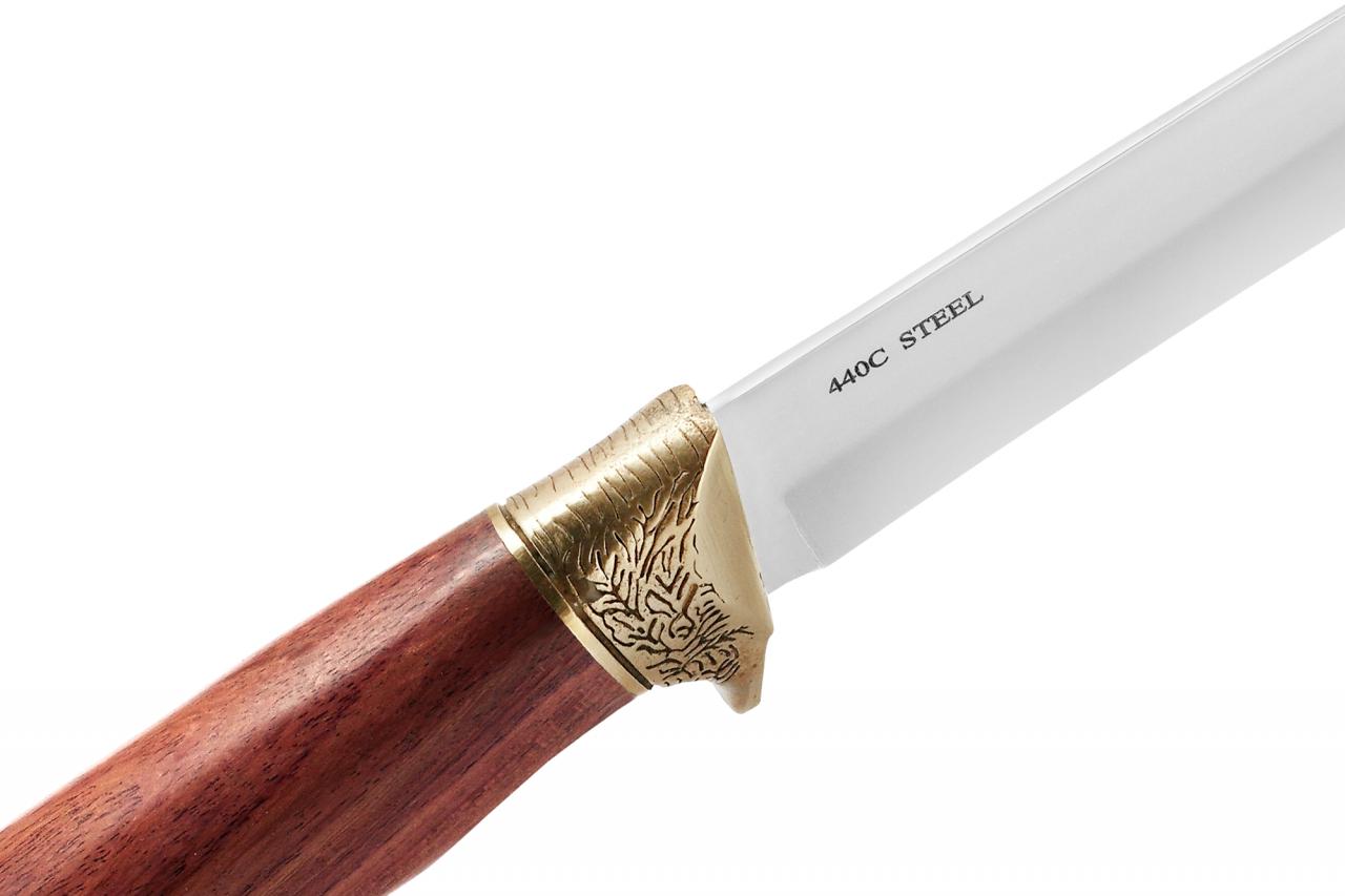Нескладной нож в кожаном чехле, отличный подарок мужчине