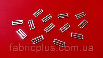 Регулятор с крючком для бретелей 1,8 см никель