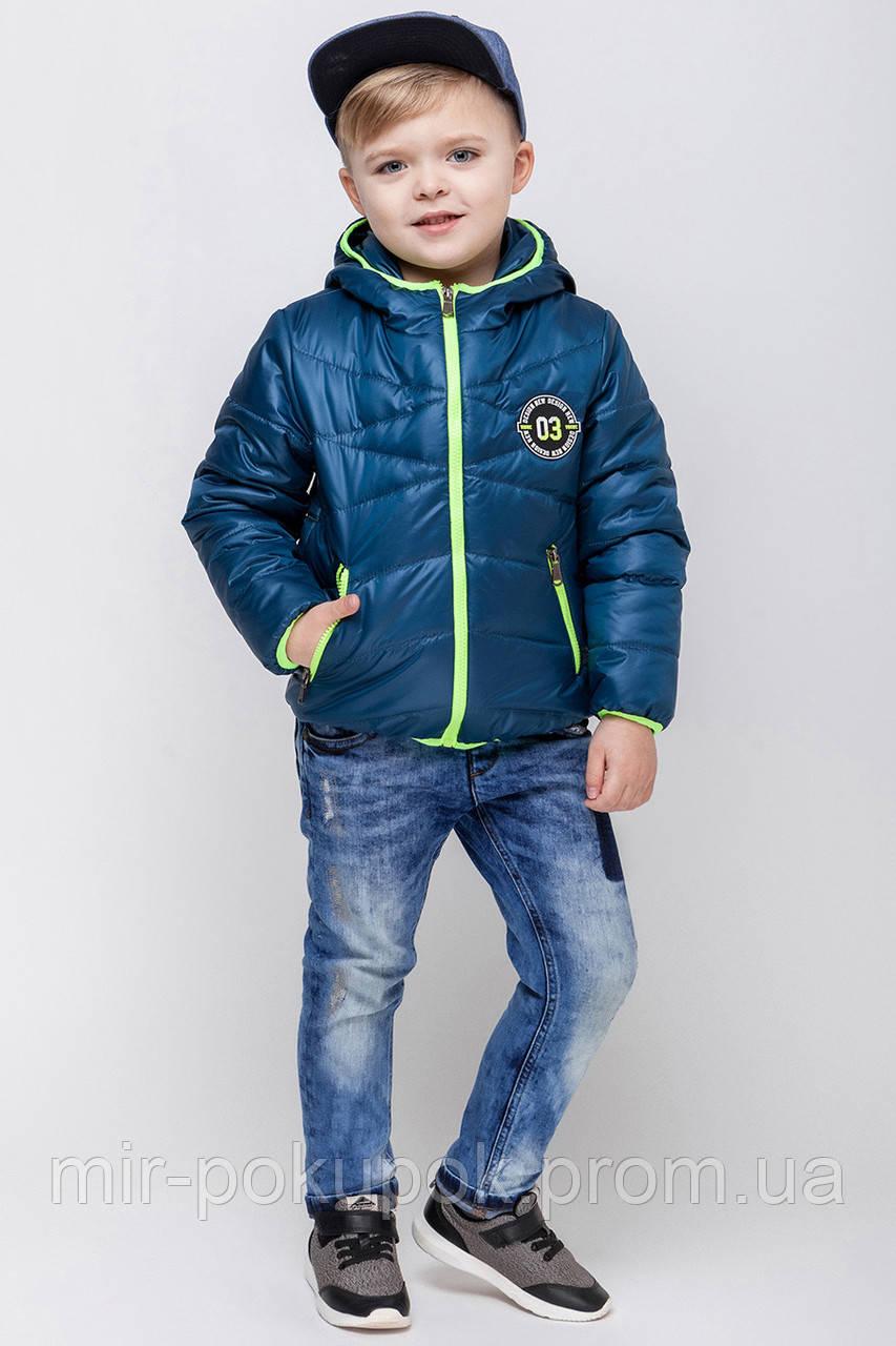 Демисезонная куртка для мальчика VKM-3, фото 1