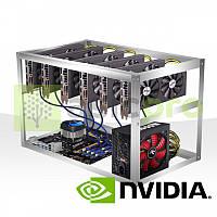 Майнинг ферма на 6 GPU GTX 1070 8GB
