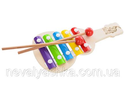 Деревянная игрушка Ксилофон Гитара Деревянный Дерев'яний , MD 1164, 006621