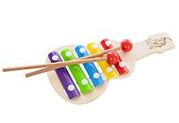 Деревянная игрушка Ксилофон Гитара, MD 1164, 006621