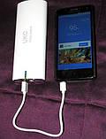 Портативний зовнішній акумулятор, зарядний пристрій Power Bank 20000 mAh, фото 7