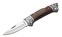 Нож складной, универсальный с отверстием для темляка, сталь 440А