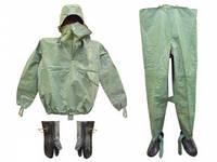 Рыбацкий костюм ОЗК ткань БЦК , армейский костюм Л1, улучшенный, оригинал, водонепроницаемый, размер 45-46, фото 1