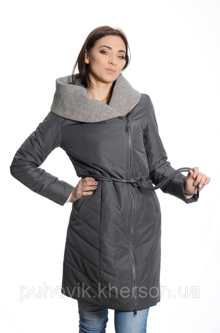 66aa40570b23 Куртка женская деми Fodarloy 857 графит -