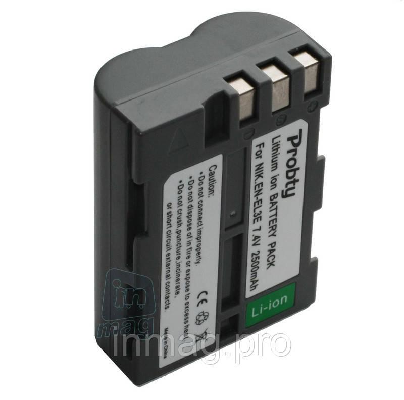 Аккумулятор для Nikon EN-EL3e (NIKON D50, D70, D80, D90, D100, D200, D