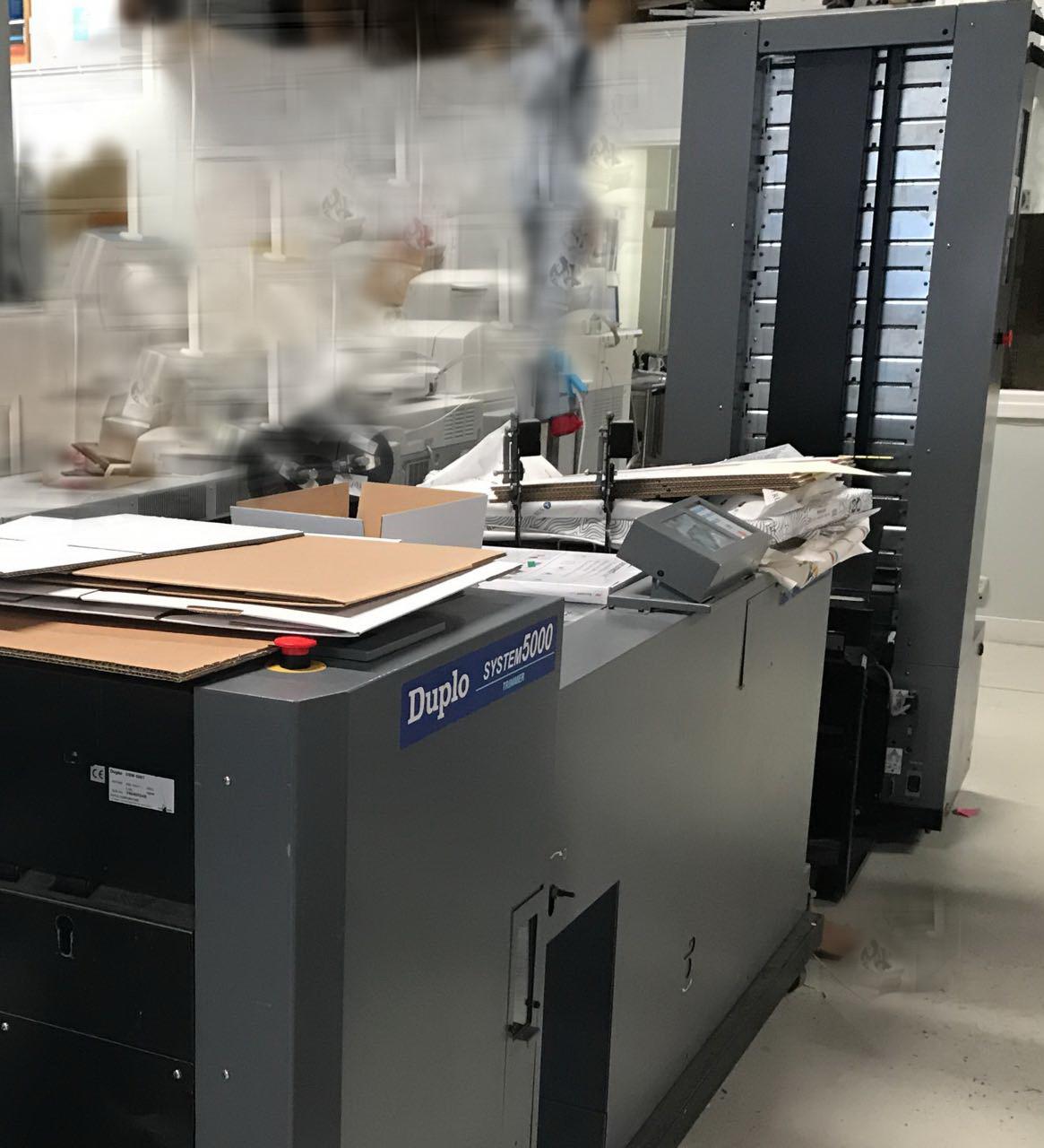 Буклетмейкер Duplo System 5000