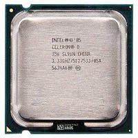 Процессор Intel Celeron D 356, 3.36 GHZ/256/533