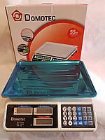 Торговые электронные весы Domotec DT 809 55 кг