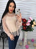 Стильная и эффектная шифоновая блуза