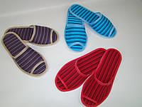Тапочки домашние гостевые для дома «Твист» (35-44р) код.2014, фото 1