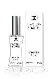 Тестер духи мужские Chanel Egoiste Platinum  (Шанель Эгоист Платинум)