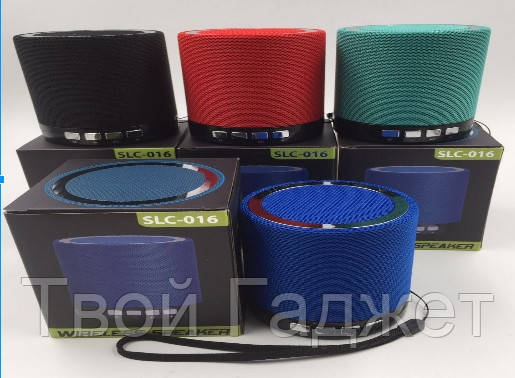 Колонка портативная Bluetooth/SD/USB/FM BT SLC016