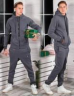 Мужской спортивный костюм Nike трехнитка с начёсом