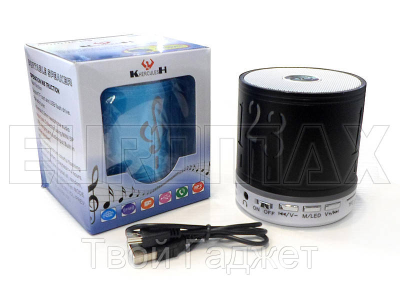 Колонка портативная Bluetooth/SD/USB/FM S7