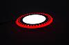 "LED панель Lemanso ""ТLED панель Lemanso ""Точечки"" LM542 круг  6+3W красная подсв.  540Lm 4500K 85-265V"