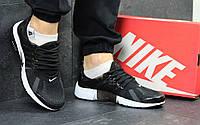 Кроссовки мужские Nike Air Presto  (черно-белые), ТОП-реплика, фото 1