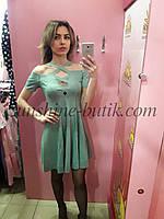 Женское замшевое платье  Poliit 8411, фото 1