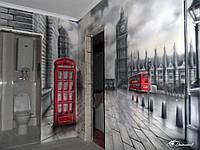 Роспись стен в квартире (Лондон)