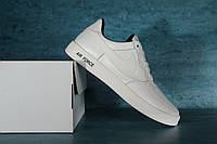Мужские кроссовки Nike AirForce White реплика