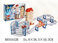 Детский трек автострада со световыми эффектами и динамической музыкой 934412 R/JY 564.