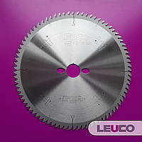 Пила для торцовки Leuco 250х3,0х2,2х30 z=80 (специальная геометрия зубов G5 для идеально чистого реза)