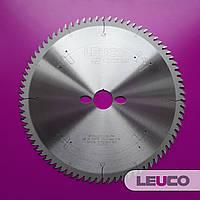 Пила для торцовки Leuco 250х3,0х2,2х30 z=80 (специальная геометрия зубьев G5 для идеально чистого реза)