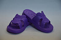 Тапочки зайчики пена фиолетовые оптом Dreamstan, фото 1