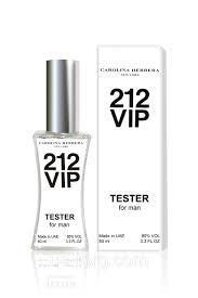 Тестер духи мужские Carolina Herrera 212 VIP Men (Каролина Эррера 212 ВИП мэн), фото 1