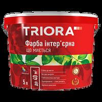 """Краска интерьерная моющаяся """"TRIORA"""" 1,0 л"""
