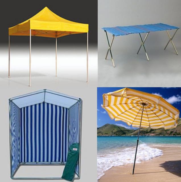 Зонты, шатры, палатки