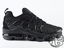 Чоловічі кросівки Nike Air VaporMax Plus Triple Black 924453-004, фото 3