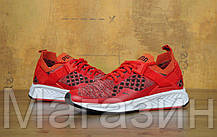 Мужские кроссовки Puma Ignite EvoKNIT Lo Pavement Trainers Red Пума красные, фото 2
